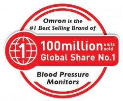 OMRON – thương hiệu số 1 thế giới về MÁY ĐO HUYẾT ÁP với 100 triệu máy đã được tiêu thụ. 1