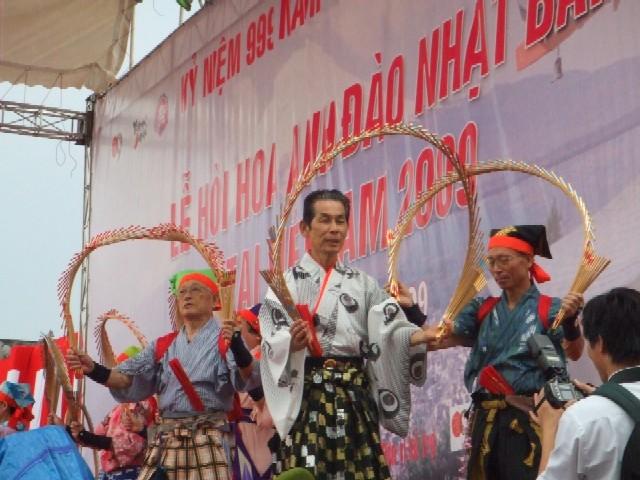 OMRON và nhà phân phối Tiến Thành tham gia Lễ Hội Hoa Anh Đào tổ chức tại Hà nội từ ngày 10 tới 12-4-2009 2