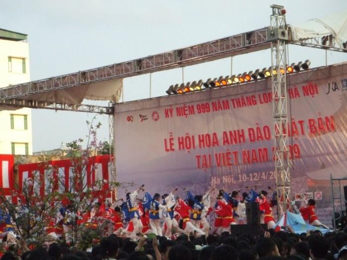 OMRON và nhà phân phối Tiến Thành tham gia Lễ Hội Hoa Anh Đào tổ chức tại Hà nội từ ngày 10 tới 12-4-2009 1
