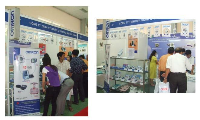 OMRON tham gia triển lãm y dược Medi-Pharm từ ngày 21 tới ngày 25-5-2008. 1