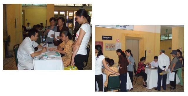 OMRON hỗ trợ tổ chức, tham gia chương trình kiểm tra huyết áp với Câu lạc bộ Điều trị bệnh Tăng huyết áp, Khoa khám bệnh, Bệnh viện Bạch Mai 1