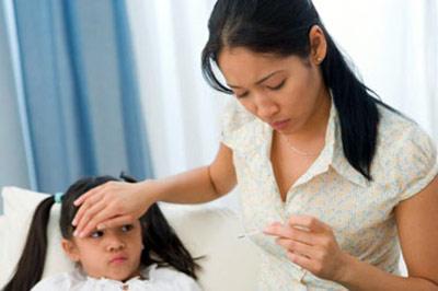 Cảnh giác với sốt virut ở trẻ 1