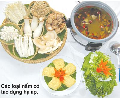 Chế độ dinh dưỡng cho người cao huyết áp 1
