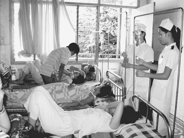 Phòng chống không để dịch sốt xuất huyết lan rộng