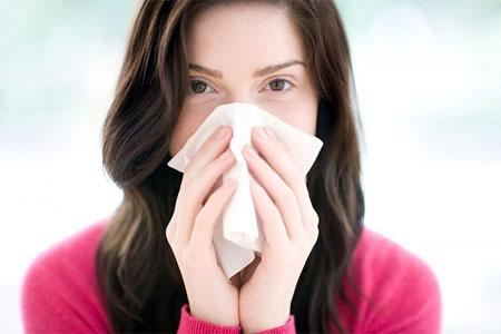 Cách ngăn chứng chảy nước mũi khi bị cảm cúm 1