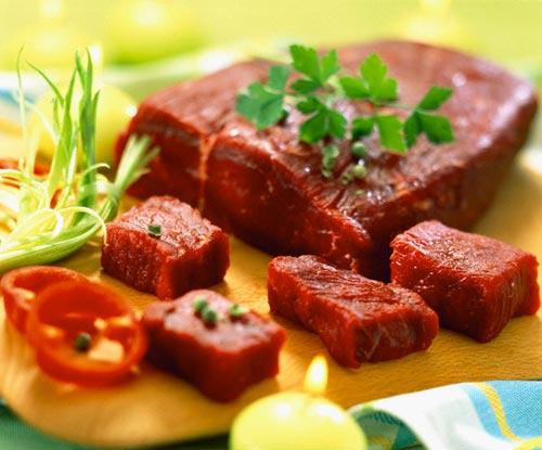 1. Thịt bò vai 1