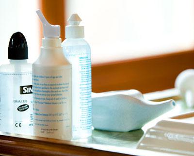 Cách rửa mũi phòng trị bệnh viêm xoang
