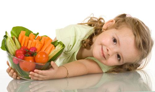 Phương pháp ẩm thực giảm béo cho trẻ em