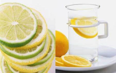 4. Uống nước chanh ấm với mật ong 1