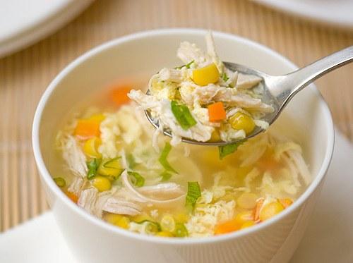 7. Nấu súp gà 1