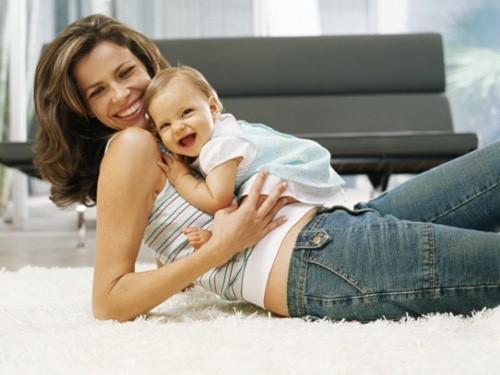 Những bài tập đơn giản giúp giảm cân sau sinh 1