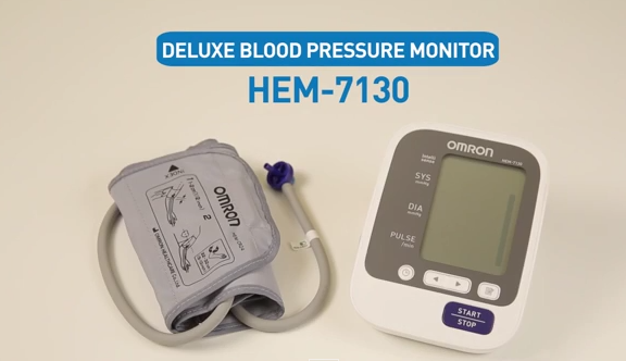 Hướng dẫn sử dụng máy đo huyết áp bắp tay HEM-7130