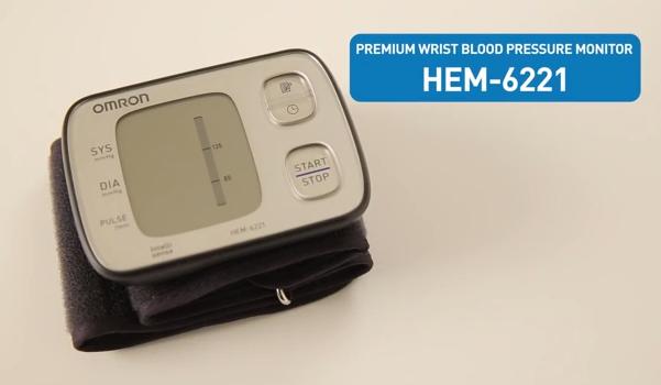Hướng dẫn sử dụng máy đo huyết áp cổ tay HEM-6221