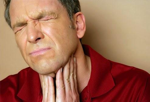 Bấm huyệt giúp chữa viêm họng mãn tính 1