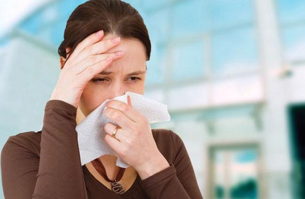 Triệu chứng của bệnh viêm xoang 1