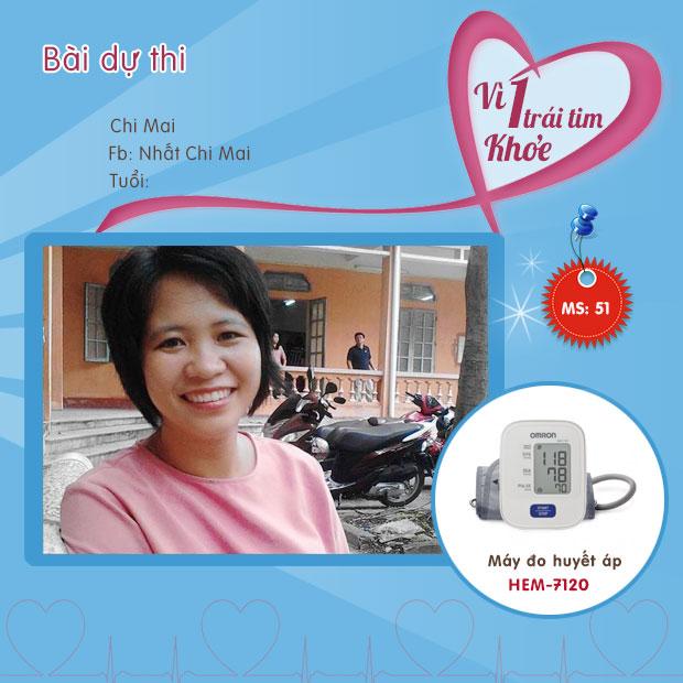 Chia sẻ của chị Mai sau khi dùng máy đo huyết áp HEM 7120 1
