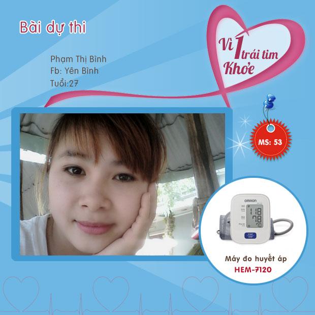 Chia sẻ của chị Phan Thị Bình 1