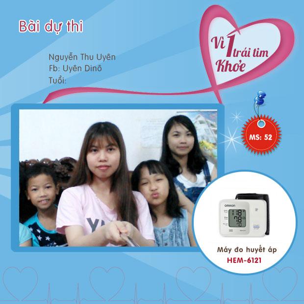 Chia sẻ của chị Nguyễn Thu Uyên 1