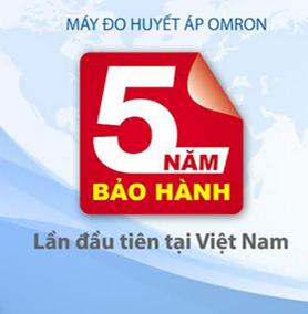 may do huyet ap omron tang bao hanh 5 nam