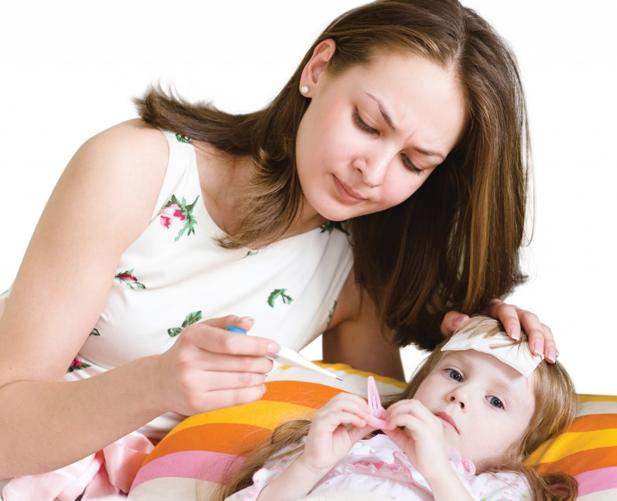 2. Cách chăm sóc khi trẻ bị sốt xuất huyết: 1