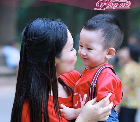 Hạnh phúc lần đầu làm mẹ của chị Trang Nhung 1