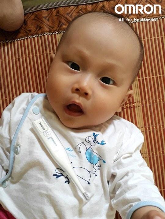 Chia sẻ của bà mẹ 2 con Minh Thành Nhật khi chăm con ốm 1