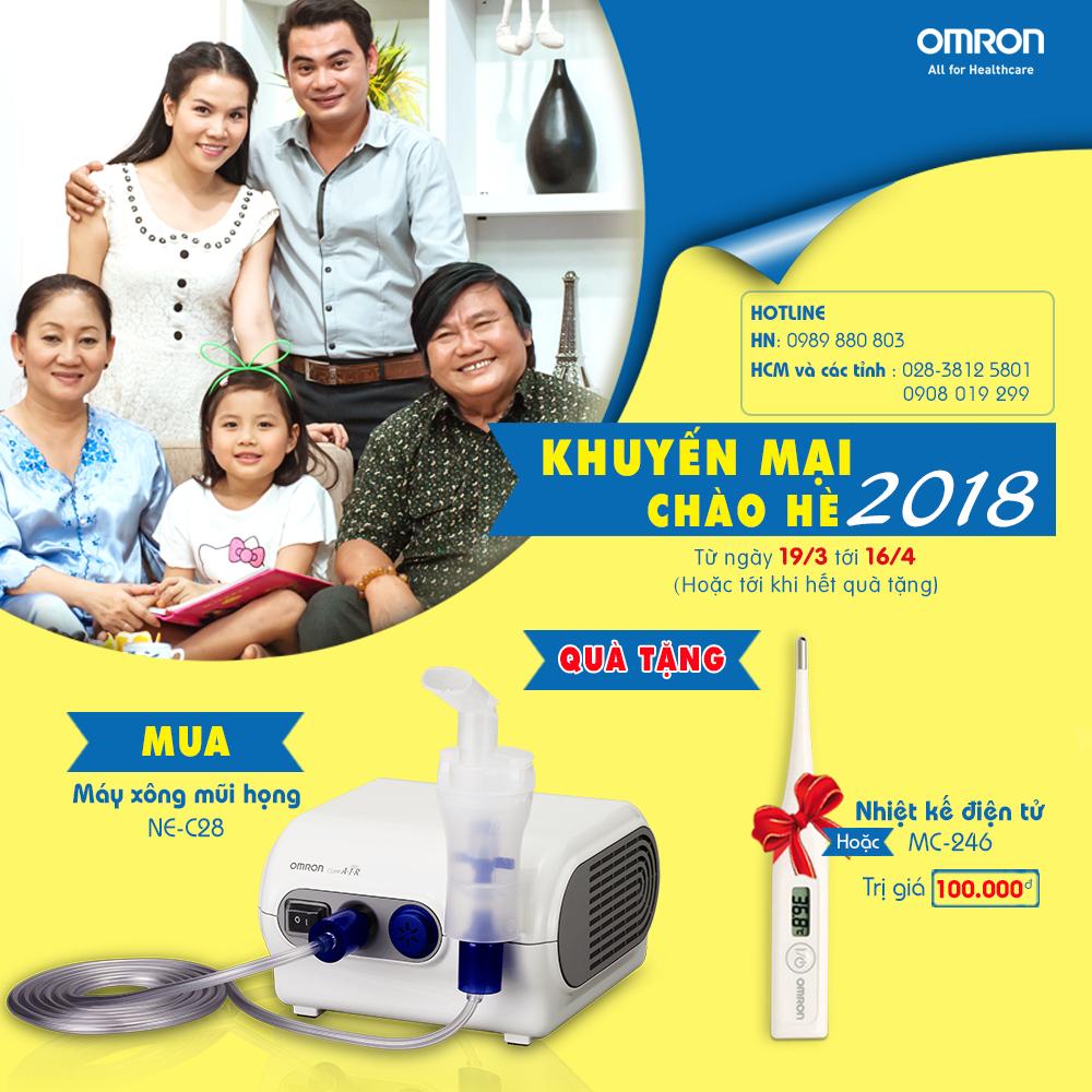 Omron Healthcare tưng bừng khuyến mại chào hè 2018 4