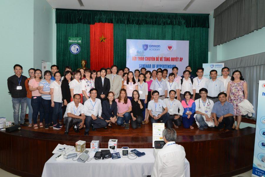 Thành công của buổi hội thảo đầu tiên trong chuỗi chuyên đề quản lý tăng huyết áp tại Việt Nam 1