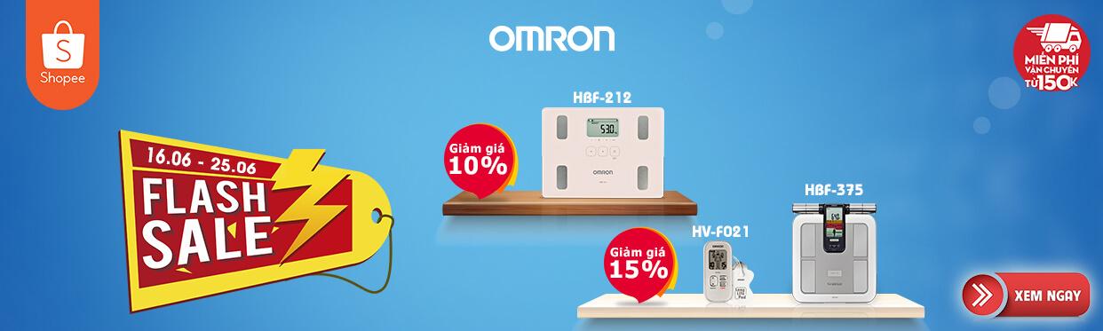 Omron Healthcare khuyến mại ngày hè tháng 6 trên Shopee 1