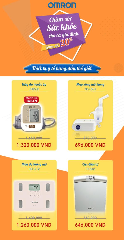 Giảm giá các sản phẩm chăm sóc sức khỏe gia đình trên Shopee 1