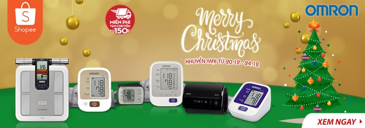 "Omron Healthcare tưng bừng khuyến mãi ""Merry Chirstmas"" 1"